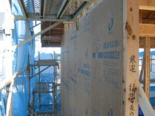 耐震面材工事